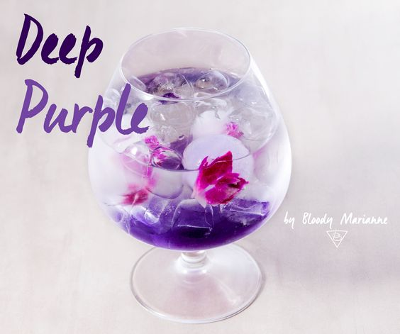 Deep Purple by Bloody Marianne #cocktail #mixology
