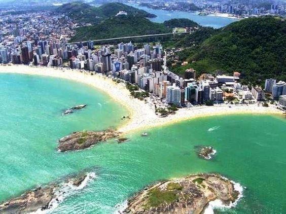 Quem nunca viajou para uma das inúmeras praias do Espírito Santo que atire a primeira mala de viagem... - Pinterest