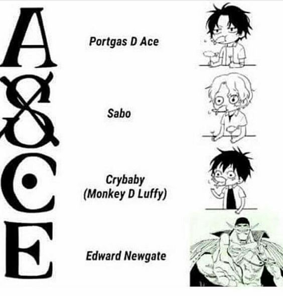 Ace Luffy Sabo Ace S Tattoo Explained One Piece One Piece Comic One Piece Tattoos One Piece Ace