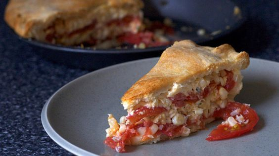 Tomato and Corn Pie | Recipes | Pinterest | Corn Pie, Pies and ...
