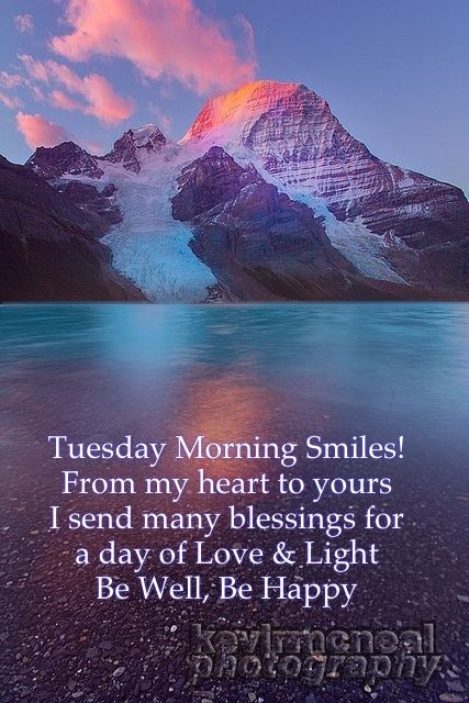 Good Morning!! Tuesday smiles to All ~MW