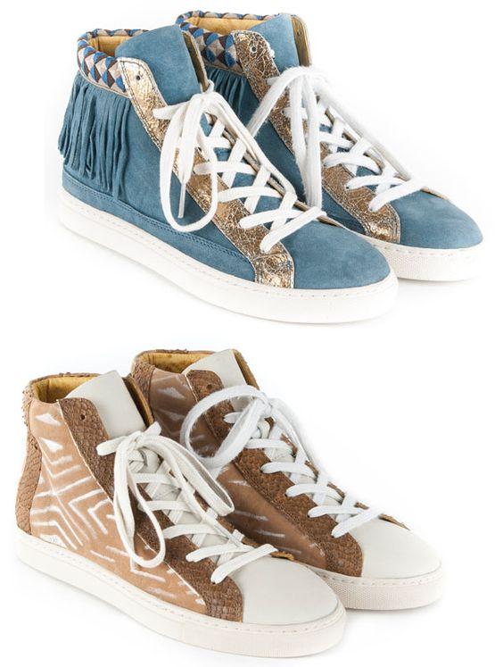 Brilhos da Moda: Sapatilhas Goldmud