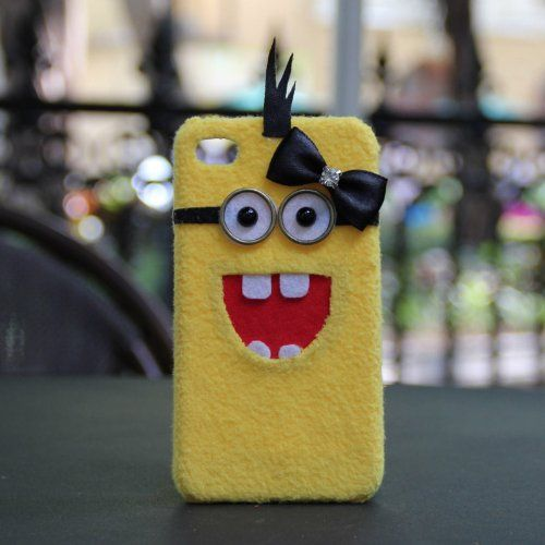 Despicable Me Handmade Plush Case For iPhone 5/5s