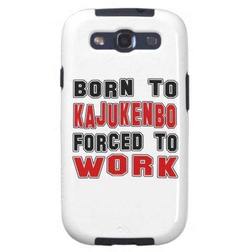 Born to Kajukenbo forced to work