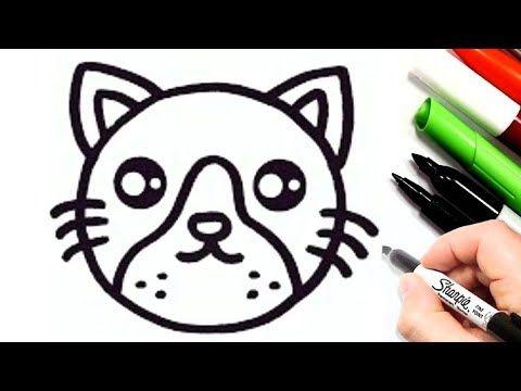 رسم سهل وكيوت رسم قطة سهله جدا تعليم الرسم للأطفال خطوة بخطوة رسومات سهلة وجميلة Youtube Character Snoopy Fictional Characters