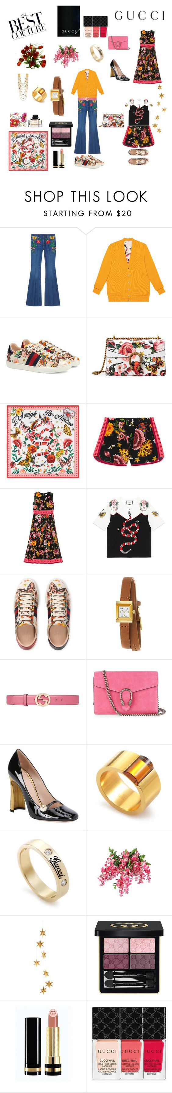 """Presenting the Gucci Garden Exclusive Collection: Contest Entry Gucci Garden"" by acooper7179 ❤ liked on Polyvore featuring Gucci, Livingly and gucci"