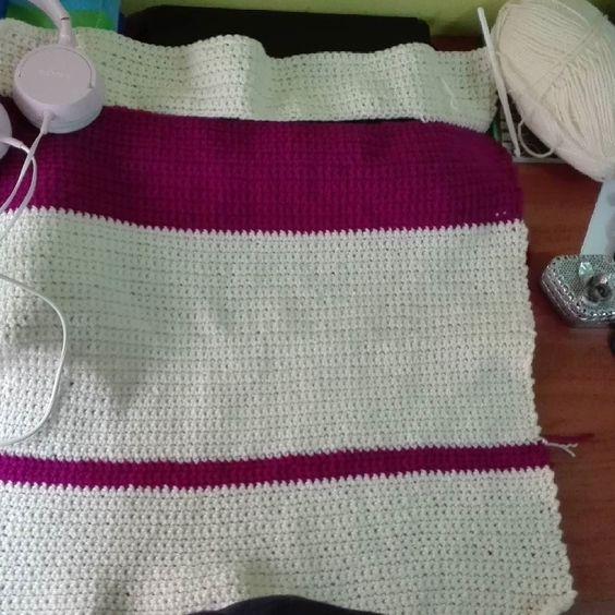 Parte de alante acabada   #delicate #crochetlove #newproject #amigurumi #crochetadict #crochet #crochetlove #crochetlife #yarn #cottonyarn #cotton #happiness #happy #handmade #madewithlove by carmeenv15
