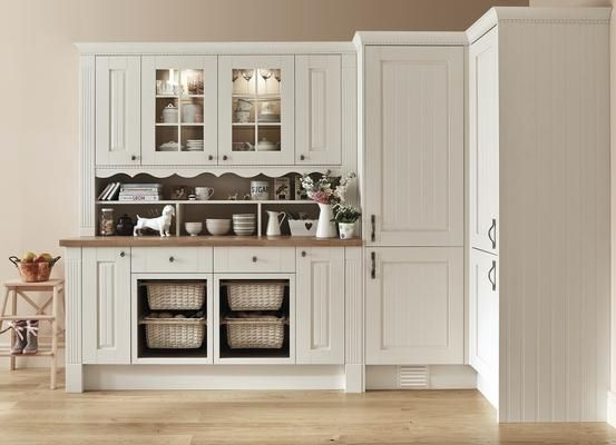 Nice Tall Cupboards Diffe Handles S J Refurb Pinterest Bespoke Dresser And Ivory Kitchen