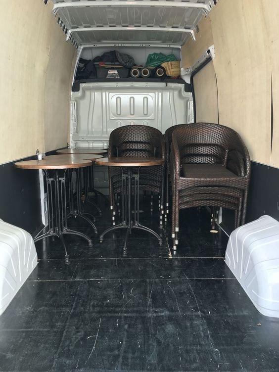 selidbe kafića - stolice