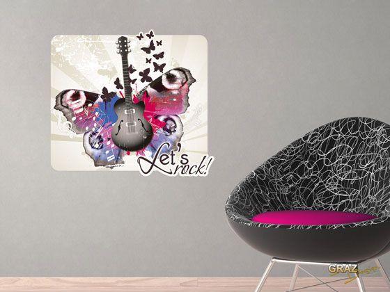 Schmetterling als Wandsticker
