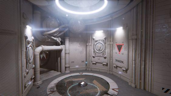 ArtStation - Outpost 23 Unreal Tournament (Epic Games), Rick Kohler