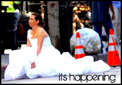 its happening - bridesmaids quote