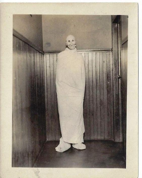 Asylum ghoul in a straight jacket. #vintage #halloween #costume ...