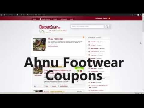 Ahnu Footwear Coupon Code - Ahnu Footwear Coupons 2014