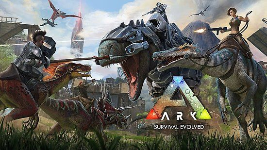 The Island poster Ark Survival Evolved