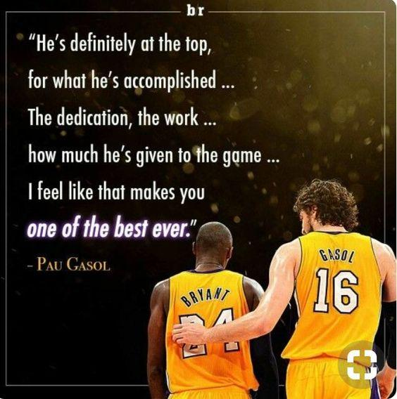 Kobebryant Paugasol Bryant Kobe Blackmamba Gasol Losangeleslakers Losangeles Lakers Nba Kobe Bryant Pictures Kobe Bryant Quotes Kobe Bryant