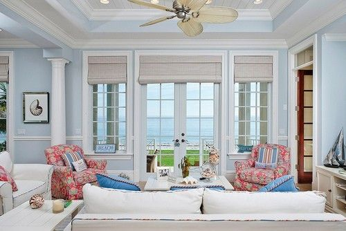 Art beautiful beach cottage great-spaces