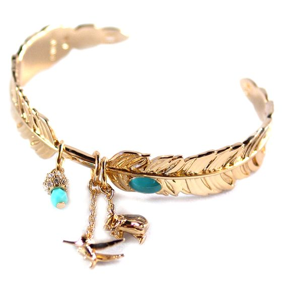 Disney Couture Pocahontas Feather cuff
