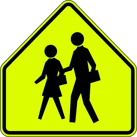 school crossing sign mutcd s11 traffic signs and