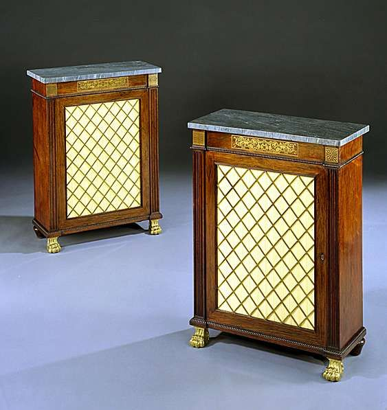 English Regency Furniture | PAIR OF REGENCY ROSEWOOD SIDE CABINETS   English  Antique Furniture ... | Antique Furniture English | Pinterest | English  Antique ...