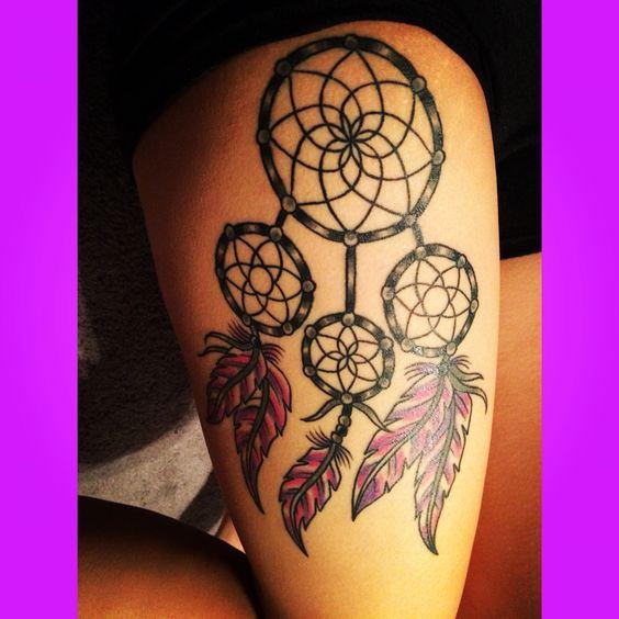 Dreamcatcher tattoo
