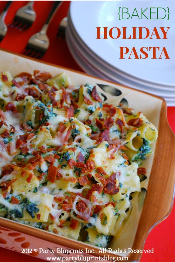 Easy pasta recipes for christmas