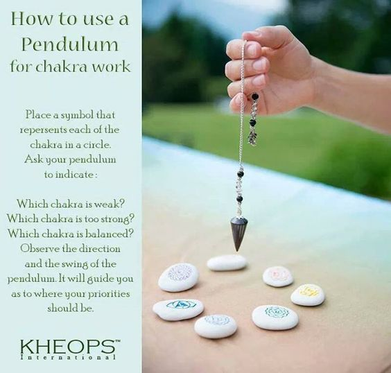 How to use a Pendulum for Chakra Work