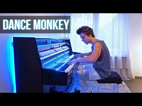 Tones And I Dance Monkey Piano Cover By Peter Buka Youtube