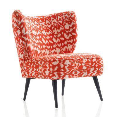 Fauteuil franck coton imprim ikat 380 chez la redoute color mobilier - Fauteuil patchwork la redoute ...