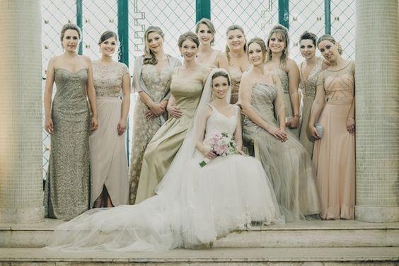 Casamento Re e Caco | Madrinhas e Padrinhos | Vestida de Noiva | Blog de Casamento por Fernanda Floret