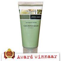 Groene Klei masker - Actie: Diverse kortingen op Award winnaars | De Tuinen