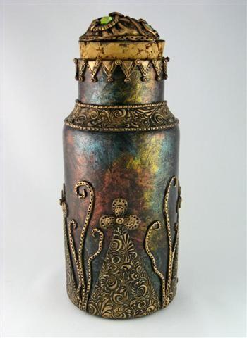 Treasure Jar II by Jayne Ayre - Kismet Clay Designs: