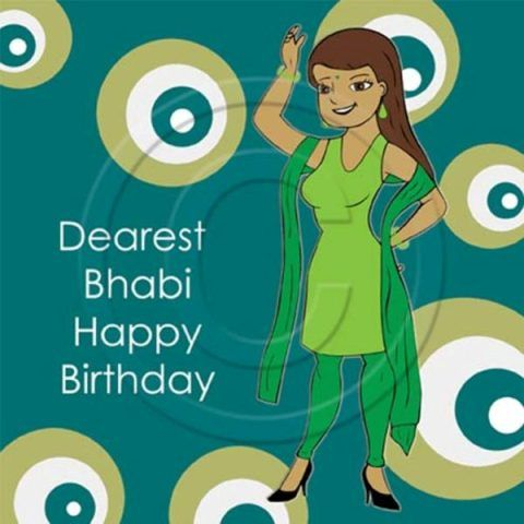 Dearest Bhabhi Happy Birthday Funny Birthday Wishes Wallpaper For Bhabhi Ji Funny Happy Birthday Wishes Birthday Wishes Funny Happy Birthday Wishes Quotes