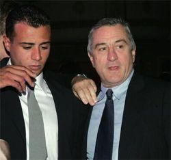 Raphael and Robert De Niro | Fathers and their Children ...