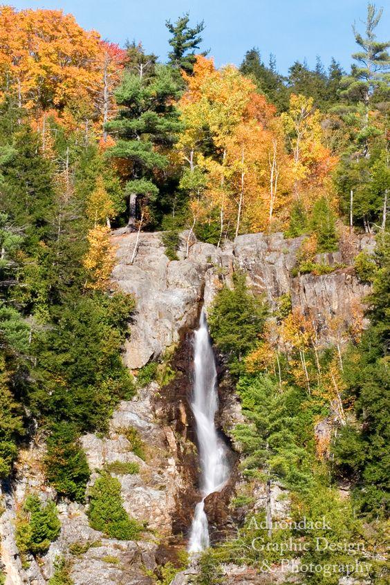 Roaring Brook Falls Upstate NY | Northern NY Bucket List ...