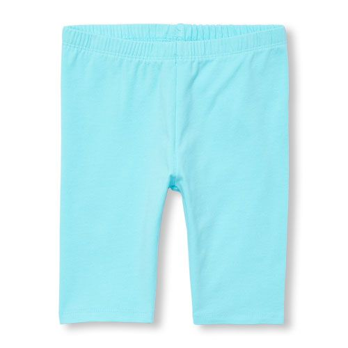 The Childrens Place Girls Solid Bike Shorts