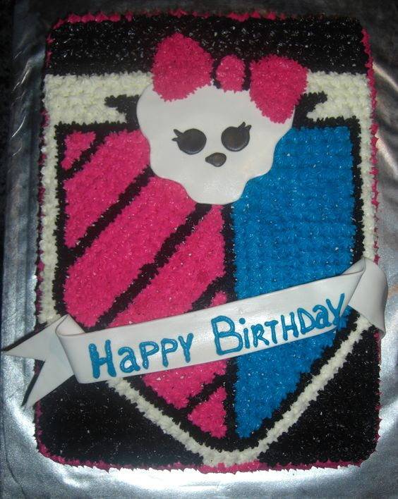 Monster High Cake: