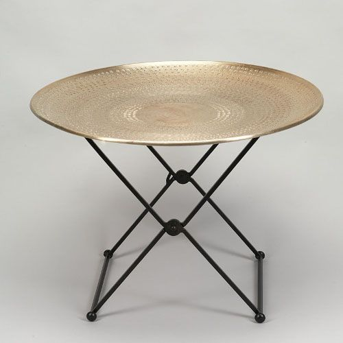Oriental tables and style on pinterest for Table basse ronde noir