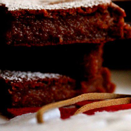 Brownies com especiarias