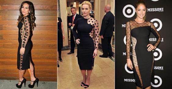 Veja 10 coincidências fashion e quais são os vestidos preferidos das famosas