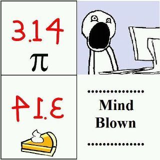 .: Mind Blown, 14 Pie, Pi Day, Funny Stuff, Math Humor, Happy Pi, Math Jokes