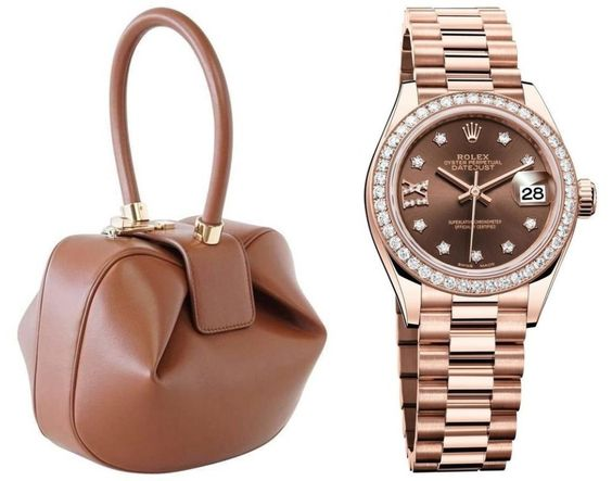 Rolex Lady Datejust & Gabriela Hearst Nina Bag