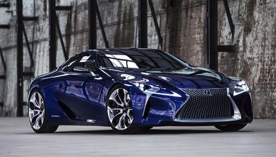 Lexus LF-LC Blue Concept.
