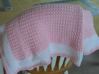 Crochet Baby Blanket Patterns Worsted Weight Yarn : This pattern says that it can be worked in bulky, worsted ...