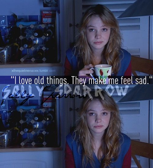 """""""And what's good about sad?"""" """"It's happy for deep people."""" Possibly my favorite quote of all time."""