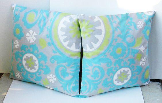set of 2 Decorative Pillow CoverDesigner Fabric by creativeladys, $24.00