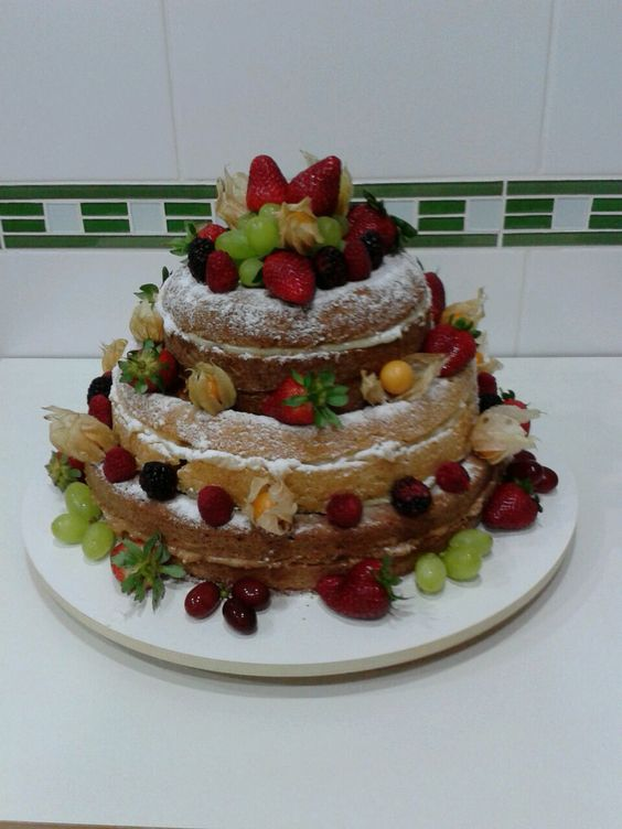 Meu primeiro Naked Cake