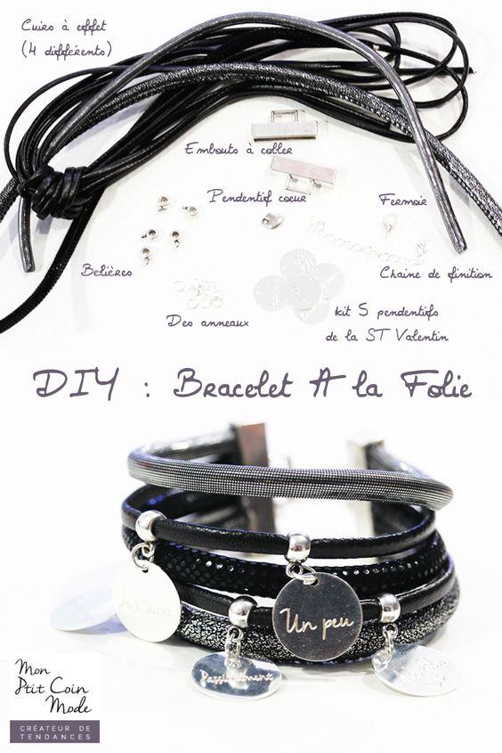 DIY - Tutoriel bracelet multi lien avec messages d'amour