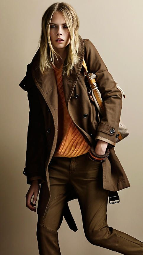 Burberry - classic & timeless.