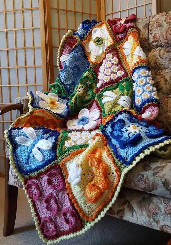 Crochet Along 2017 : explore asst crochet knit crochet fiber and more secret gardens ...